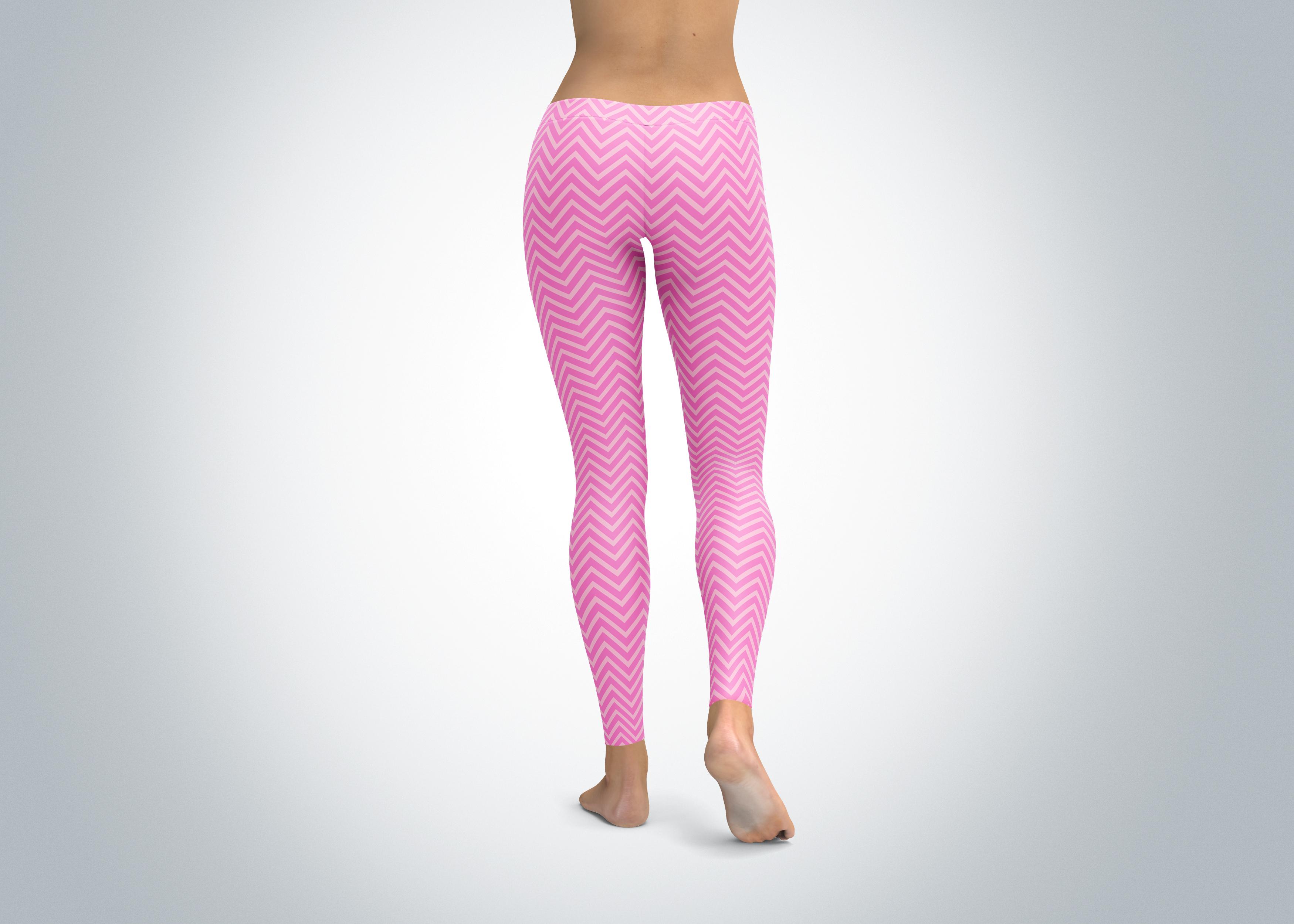 pink chevron yoga pants leggings spirit west designs. Black Bedroom Furniture Sets. Home Design Ideas