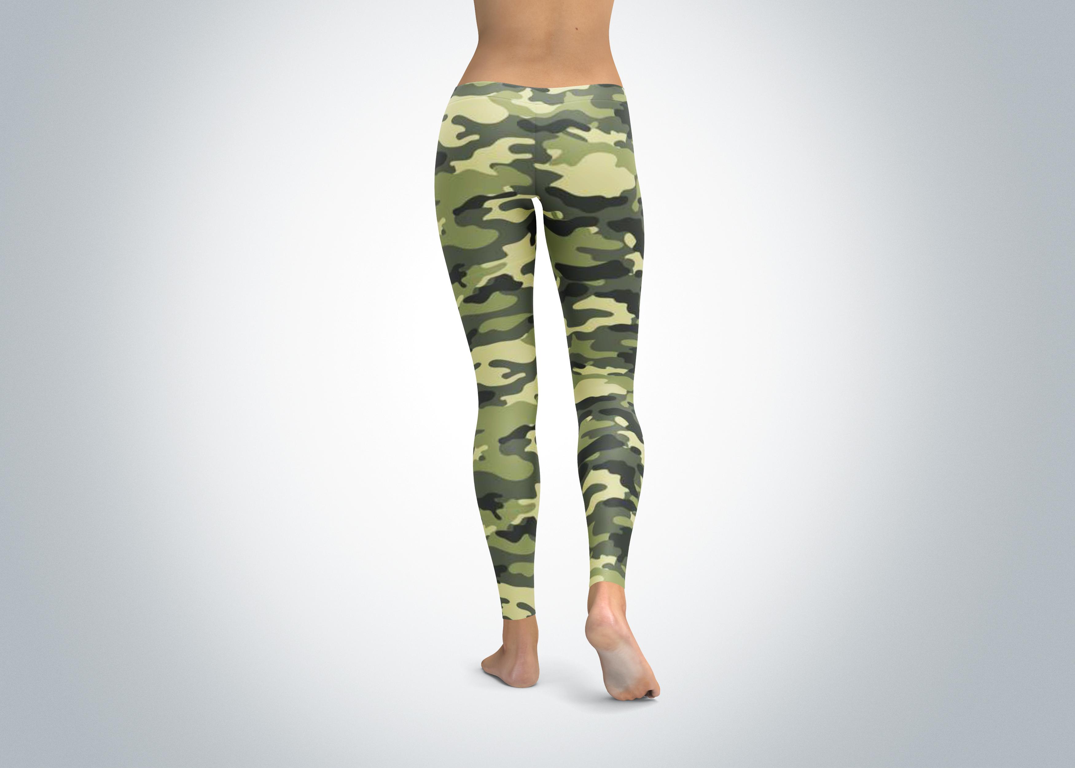 Camouflage Leggings Spirit West Designs