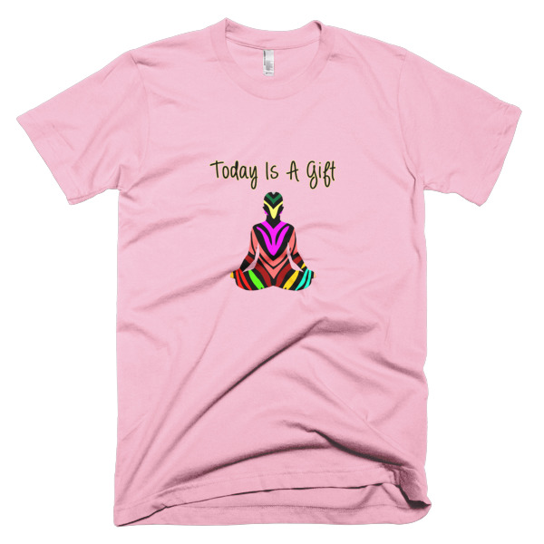 Today is a gift yoga t shirt spirit west designs for Where can i order custom t shirts